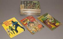 Collection of 28 Vintage Comic Books including those from Classics Illustrated and Dell