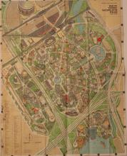 New York World's Fair Official Souvenir Map, 1964-65