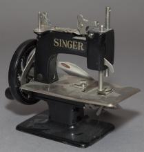 Singer sewing machine salesman sample