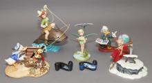 Walt Disney Classics Collection group of seven figurines -