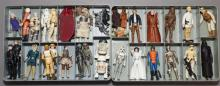 Star Wars, Kenner mini action figure collectors case with 32 figures with accessories