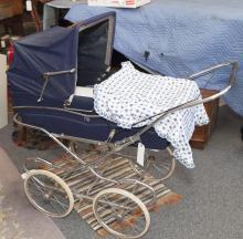 Vintage baby pram