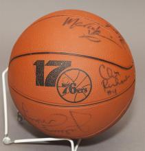 Signed Basketball, 1983 NBA Championship