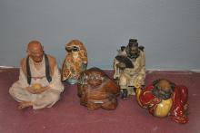 Collection of five Chinese