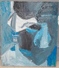 Charles Edelman, American, 20th Century, Untitled, 1993, acrylic on canvas, 27 1/2 x 24 inches