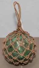 Hand blown witch ball / fishing float