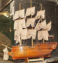 Spanish ship model