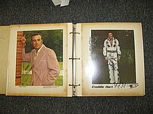Collection of 60 Grand Old Opry and Country Western Stars Signed Portraits and Autographs,