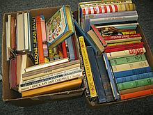 Collection of 58 vintage children's books