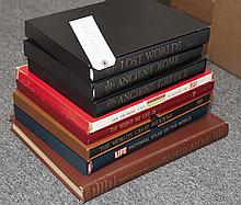 Collection of Beautiful Hardbound Atlases and Books on Ancient Civilizations,