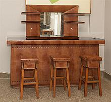 Modern Bar With Stools