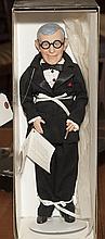 George Burns doll in original box.