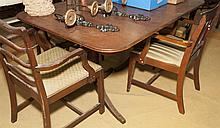 Duncan Phyfe style dining table