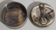 Stanley London 1911, ships sextant in brass circular case