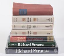 Collection of Books on Richard Strauss