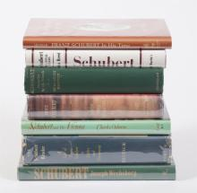 Collection of Books on Franz Schubert
