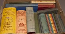 Collection of French, German, and Spanish books
