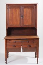 Antique American primitive Hoosier cabinet