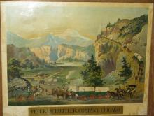 Peter Schuttler Wagon Company chromolithograph