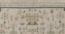 Early 19th century French sampler