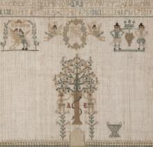 Late 18th century Continental Sampler