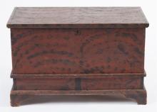 Antique American blanket chest