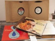 Collection of assorted record albums
