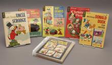 Collection of fourteen 1963 Gold Key Walt Disney comic books