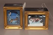 Two pieces Walt Disney Gallery Of Light by Olszewski,