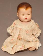 Vintage American Composition Doll, From the Collection of Johnny Rabbitt,