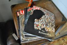 Collection of Vintage LIFE Magazines