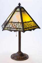 Bradley and Hubbard Arts & Crafts Table Lamp