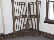 Pair of Saint Louis Historical Bronze Bank Doors Provenance: Jefferson Bank, City of Saint Louis