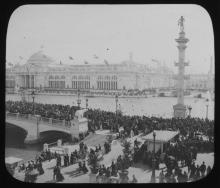 Robert Bain, Collection of Fourteen Early 20th Century Glass Slides