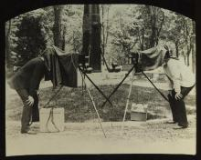 Robert E.M. Bain, Collection of Late 19th Century Glass Slides