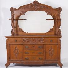 Late 19th century American Sideboard Provenance: Griesedieck Estate