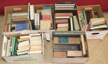 Collection of miscellaneous books, dictionaries, and encyclopedias, approx