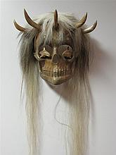 Francis Horne Sr. (b. 1954) Canadian, Northwest Coast Mask