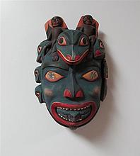 Al Cole (1944-2009) Nuxalk, Shaman's Mask