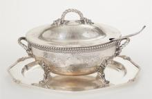 Victorian Plated Silver Soup Tureen