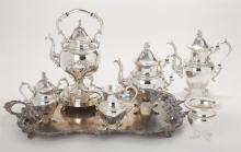 Goldfeder Silverware Company Plated Silver Tea/Coffee Service