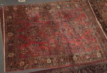 Handwoven Persian Sarouk room rug