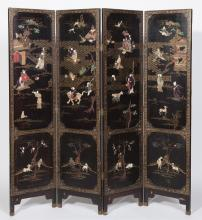 Antique Chinese Room Screen