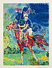 Leroy Neiman, Prince Charles at Windsor, 1982, serigraph, 30 x 22 inches
