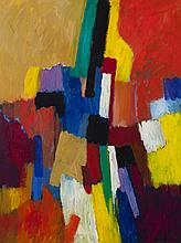 Brother Mel Meyer, St. Louis, Untitled, abstract, acrylic on canvas,