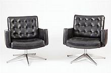 Pair of Knoll Armchairs
