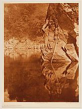 Edward Sheriff Curtis, American (1868-1952), Quiet Water Yurok, photogravure, on tissue,