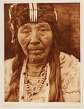 Edward Sheriff Curtis, American (1868-1952), A Klamath Type, photogravure, on tissue,