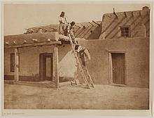 Edward Sheriff Curtis, American (1868-1952), In San Ildefonso, photogravure, on tissue,