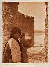 Edward Sheriff Curtis, American (1868-1952), Ti' mu Cochiti, photogravure, on tissue,